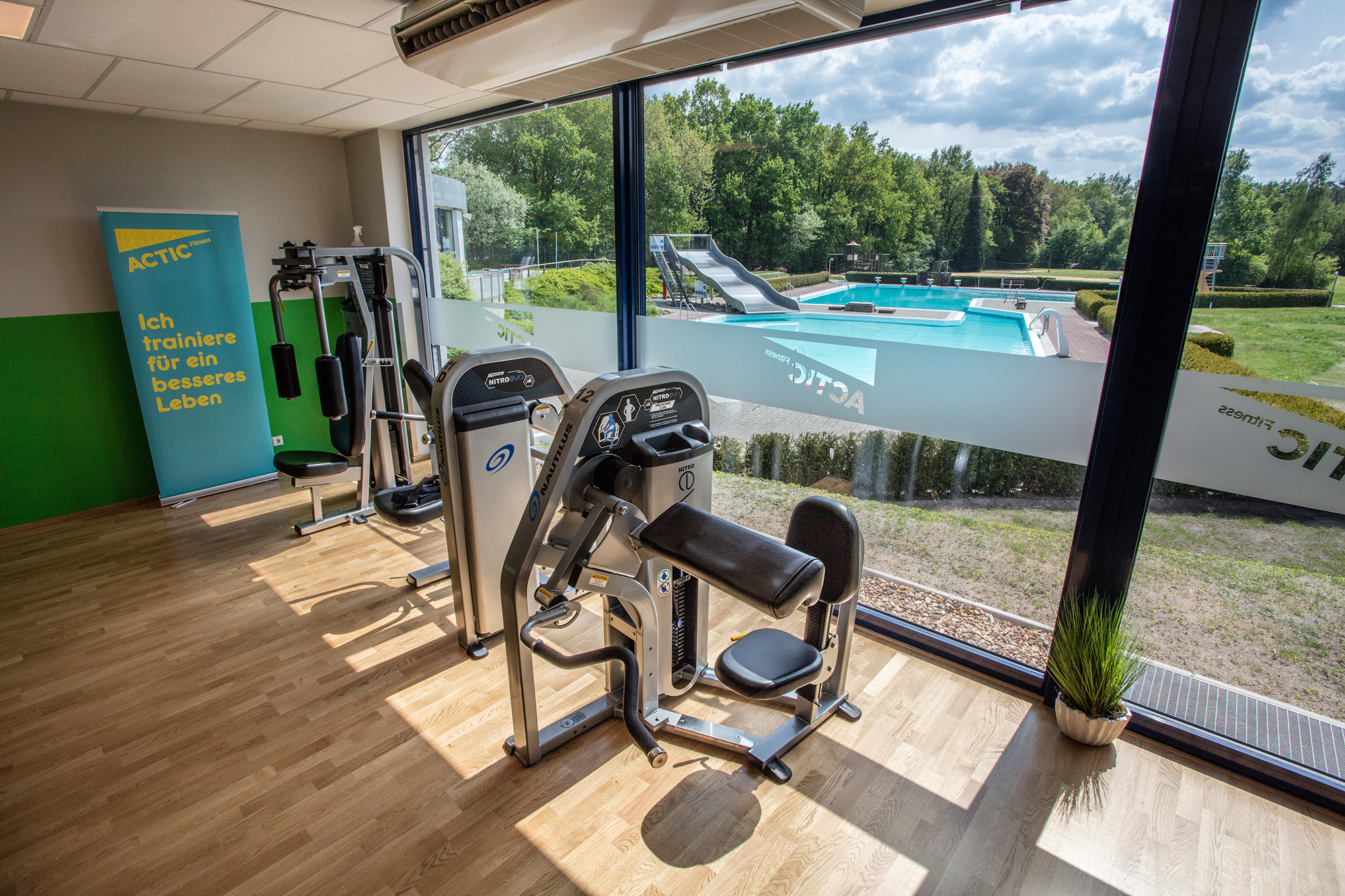 Blick_Freibad - Foto: Actic Fitness GmbH